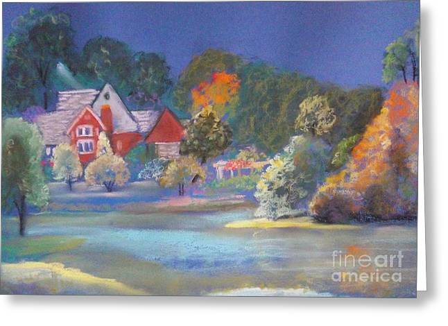 AFTER THE RAIN  Greeting Card by Sandra McClure