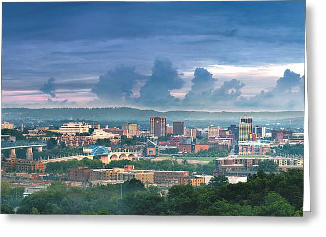 Chattanooga Greeting Cards - After The Rain Greeting Card by Steven Llorca