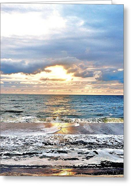 Beach Scene Greeting Cards - After the Storm 3 Greeting Card by Kim Bemis