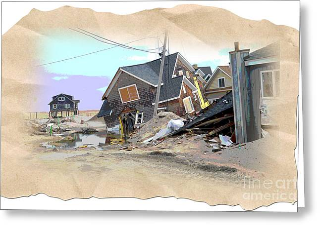 Hurricane Sandy Photographs Greeting Cards - After the Storm 3 Greeting Card by Nadine Walther