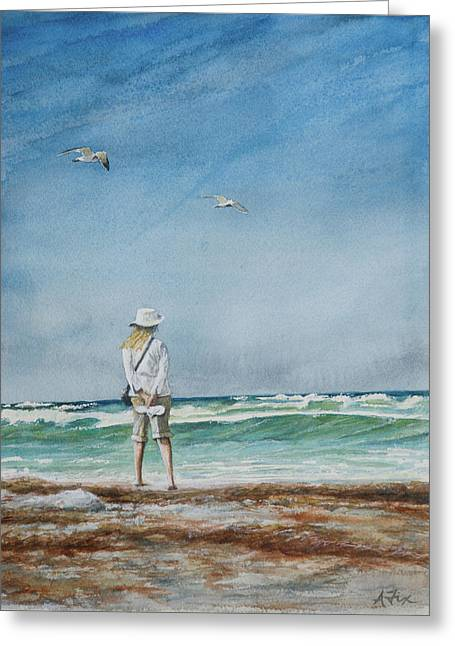 Arthur Fix Greeting Cards - After the Storm Greeting Card by Arthur Fix