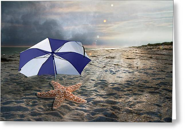 Stormy Weather Digital Greeting Cards - After the Storm Greeting Card by Betsy C  Knapp