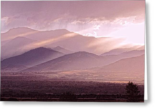 Verga Greeting Cards - After the Storm Greeting Card by Ellen  Holcomb