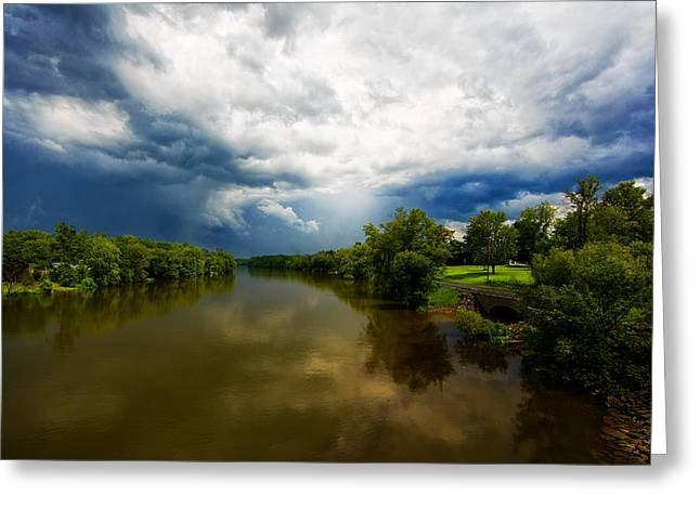 Storm Clouds Greeting Cards - After the storm Greeting Card by Everet Regal
