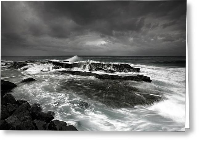 After The Storm Greeting Card by Mel Brackstone