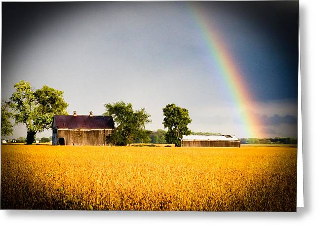 Barn Storm Greeting Cards - After The Storm Greeting Card by Michael L Kimble