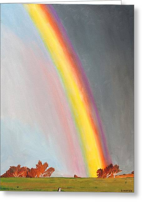 After The Storm Greeting Card by Phillip Compton