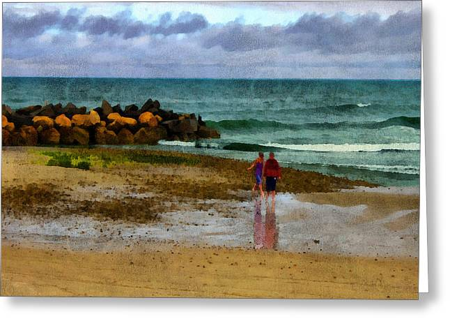 Storm Clouds Cape Cod Greeting Cards - After the Storm Greeting Card by William Sargent