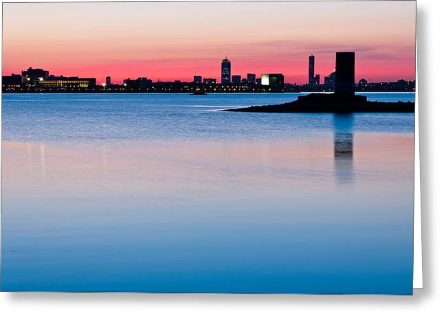Lee Costa Greeting Cards - After the Sunset Greeting Card by Lee Costa
