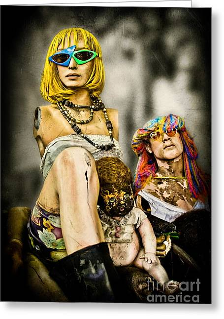 Artistic Expression Greeting Cards - Afterlife - Mannequins Greeting Card by Colleen Kammerer