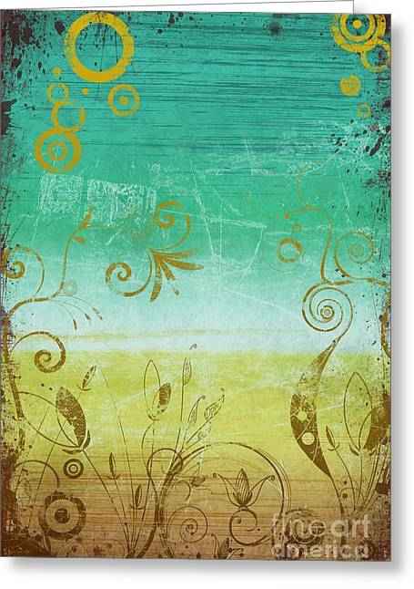 Dry Brush Greeting Cards - Aftermath Greeting Card by Ryan Burton