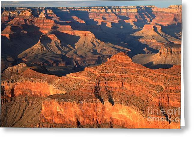 Mather Greeting Cards - Afternoon At Mather Point Greeting Card by Adam Jewell