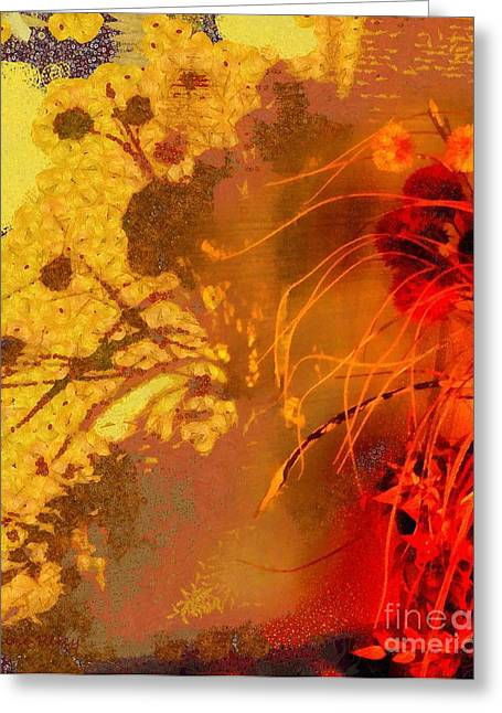 Botony Greeting Cards - Afternoon Delight Greeting Card by Janine Riley