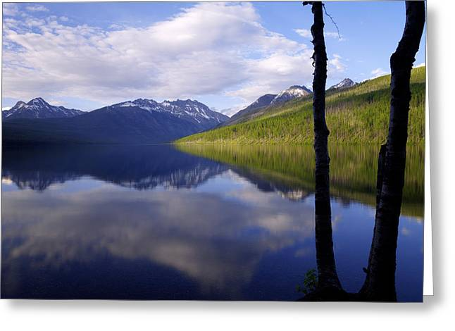 Glacier Greeting Cards - Afternoon Light Greeting Card by Chad Dutson