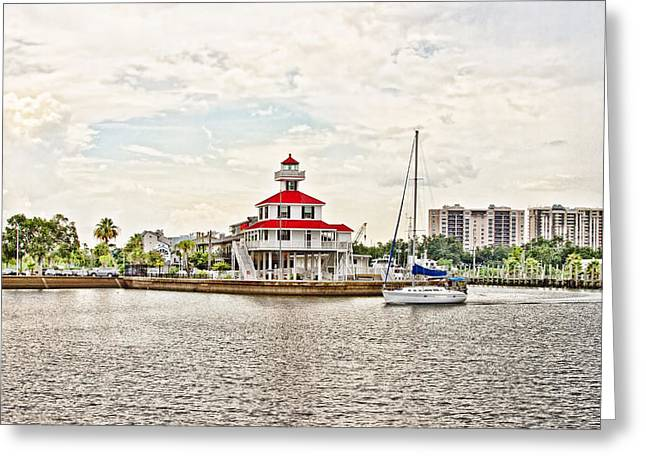 Yacht Basin Greeting Cards - Afternoon on the Water Greeting Card by Scott Pellegrin