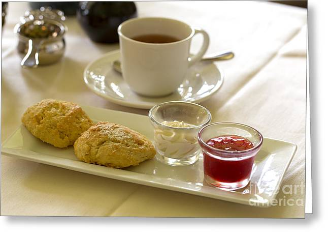 Afternoon Tea Greeting Card by Louise Heusinkveld