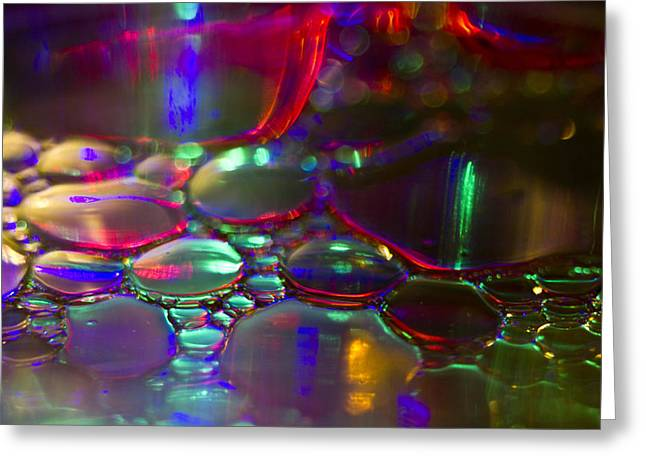 Surface Tension Greeting Cards - Again Greeting Card by Kelly Howe