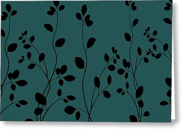 Flowers Against The Sky Greeting Cards - Against the Blue Sky Greeting Card by Chastity Hoff