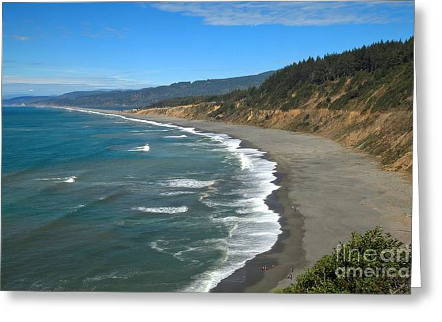 Agate Beach Greeting Cards - Agate Beach At Patricks Point Greeting Card by Adam Jewell
