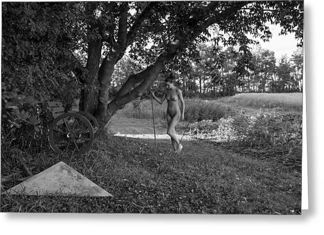Tasteful Art Photographs Greeting Cards - Age Of Innocence Greeting Card by Blue Muse Fine Art