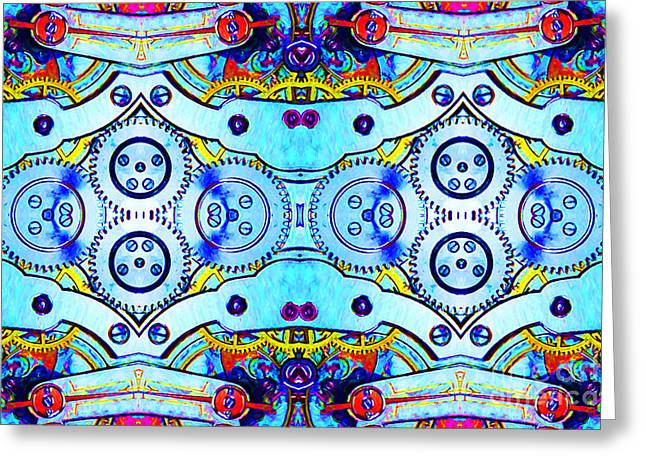 Age Of The Machine 20130605 Greeting Card by Wingsdomain Art and Photography