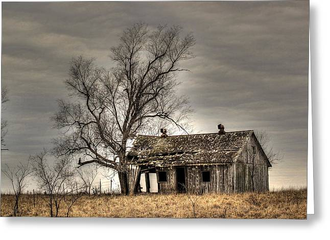 Years Old House Greeting Cards - Aged Greeting Card by Thomas Danilovich