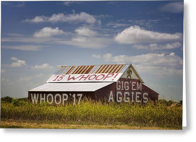 Cadet Greeting Cards - Aggie Barn II Greeting Card by Joan Carroll