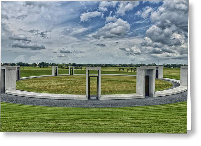Texas A Greeting Cards - Aggie Bonfire Memorial Greeting Card by Mountain Dreams