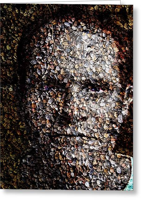 Aggregate Greeting Card by Christopher Gaston