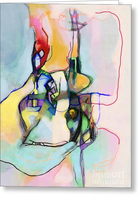 Inner Self Greeting Cards - Aging Process 13l Greeting Card by David Baruch Wolk