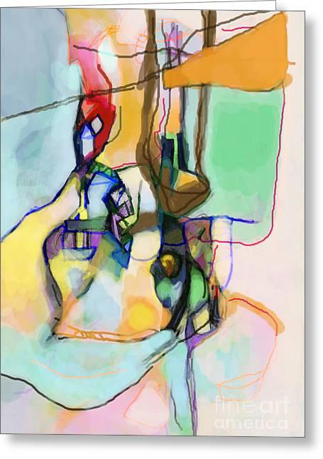 Inner Self Greeting Cards - Aging Process 13n Greeting Card by David Baruch Wolk