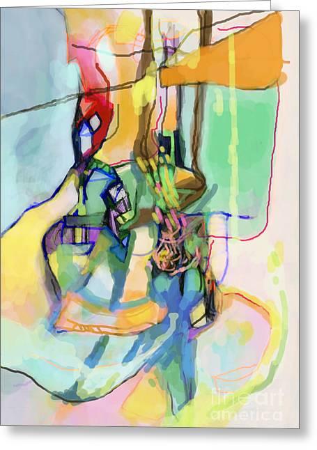 Self-renewal 13q Greeting Card by David Baruch Wolk