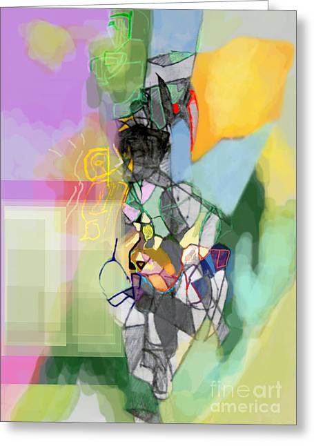 Aging Process 11cf Greeting Card by David Baruch Wolk