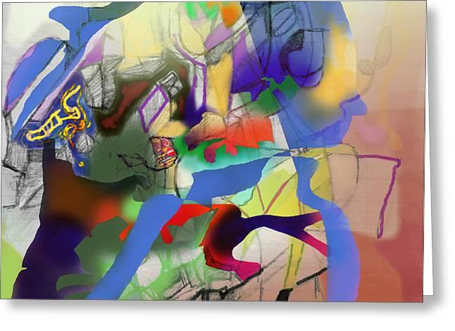 aging process 9g Greeting Card by David Baruch Wolk