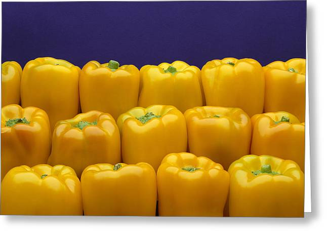 Maturity Greeting Cards - Agriculture - Produce, Yellow Bell Greeting Card by Ed Young
