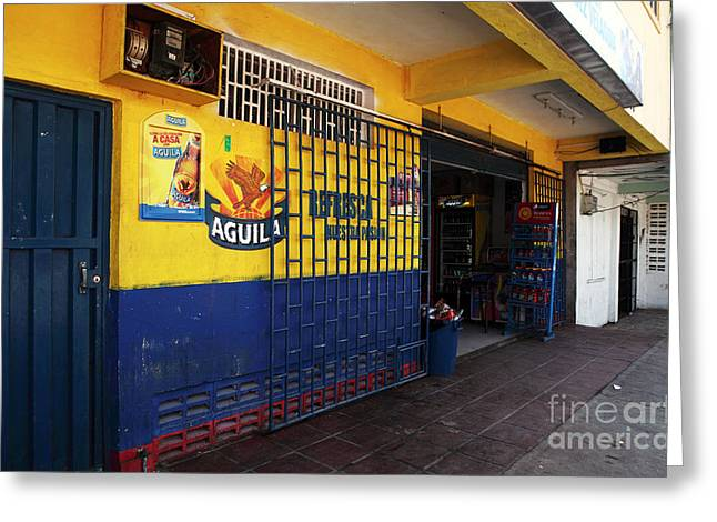 Bodega Greeting Cards - Aguila Greeting Card by John Rizzuto