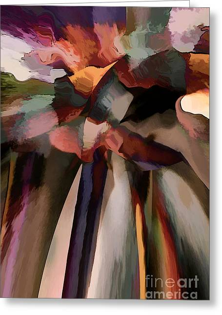 Recently Sold -  - Abstract Digital Greeting Cards - Ahhh Harmony Greeting Card by Margie Chapman