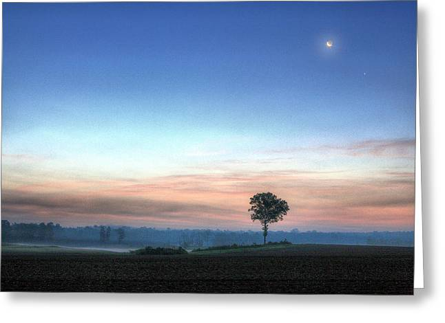 Moonrise Greeting Cards - Ahhhhh Alabama Greeting Card by JC Findley