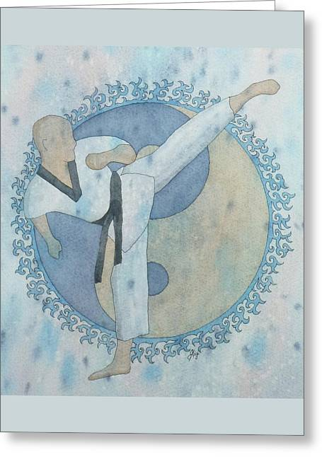 Best Sellers -  - Ying Greeting Cards - Aim High Greeting Card by Gigi Dequanne