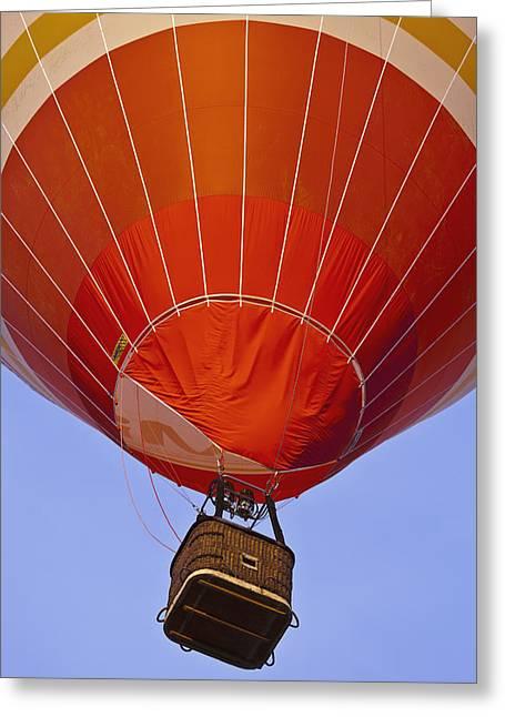 Balloon Aircraft Greeting Cards - Air Balloon Festival In Igualada Greeting Card by Carlos Sanchez Pereyra