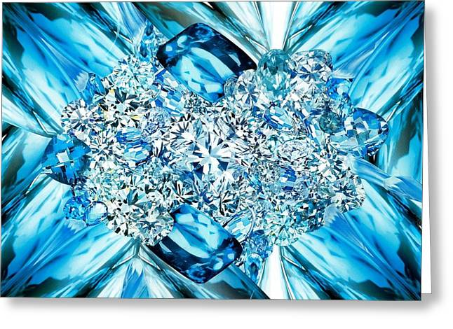 Air Element Greeting Cards - Air Greeting Card by Denise Mazzocco