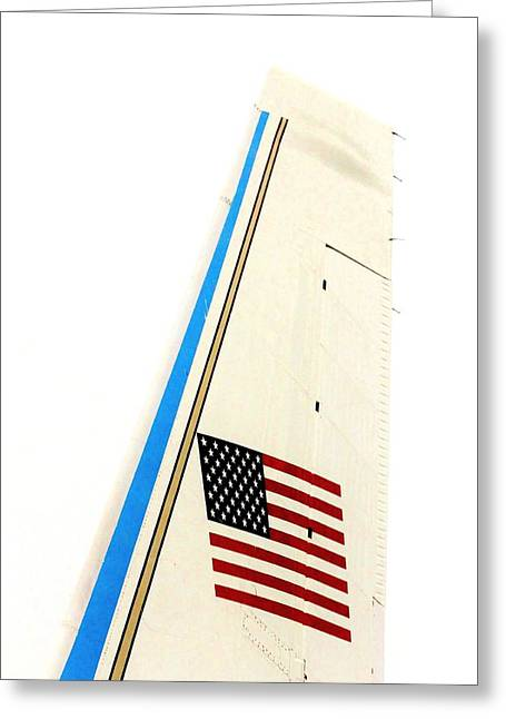 737 Greeting Cards - Air Force One Greeting Card by Benjamin Yeager