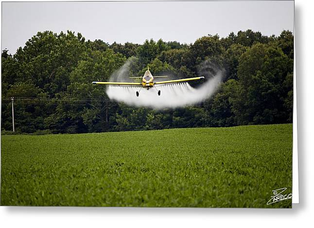 Air Tractors Greeting Cards - Air Tractor Greeting Card by David Zarecor
