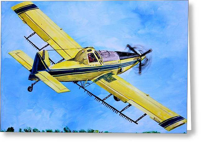 Air Tractors Greeting Cards - Air Tractor  Greeting Card by Karl Wagner