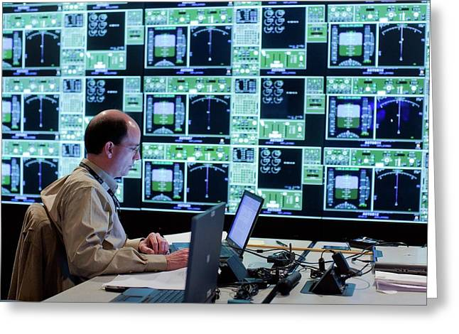 Air Traffic Operations Research Greeting Card by Nasa