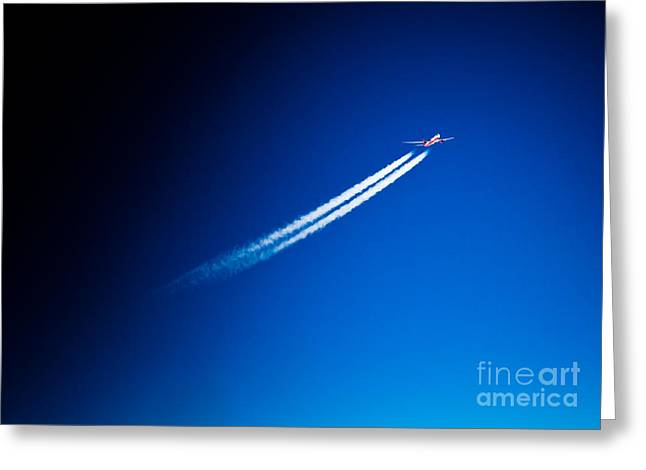 Turbojet Greeting Cards - Airbus 330 Greeting Card by Rastislav Margus