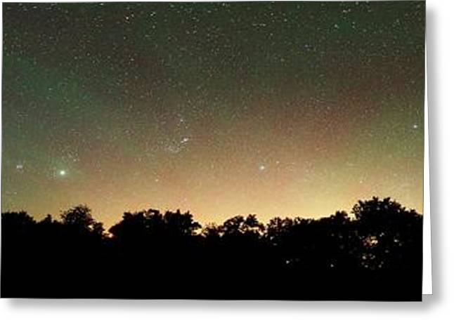 Airglow Greeting Card by Luis Argerich