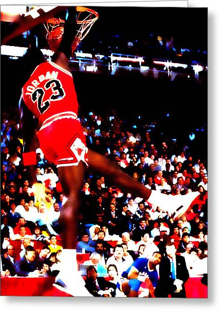 Ewing Digital Greeting Cards - Airness Greeting Card by Brian Reaves