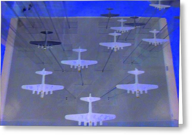 Airplanes 1 Greeting Card by Randall Weidner