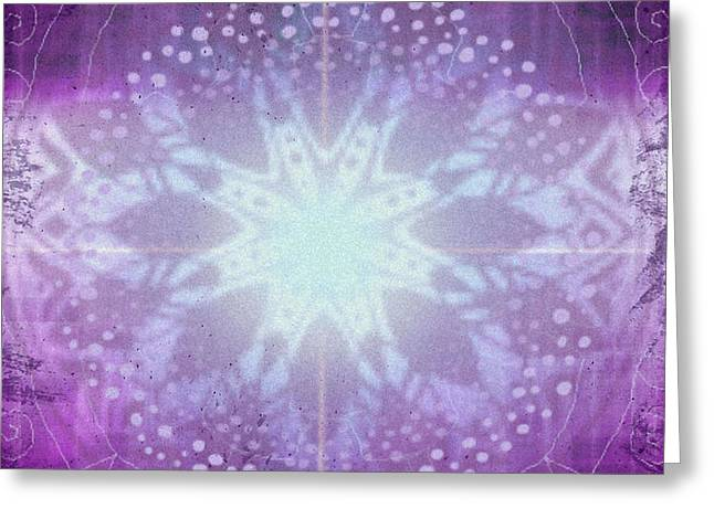 Ajna - Chakra 6 Greeting Card by Christine Louise Bryant